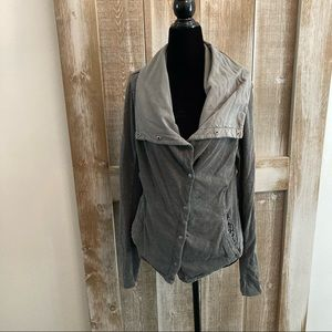 Anthropologie Top, Grey, Size M